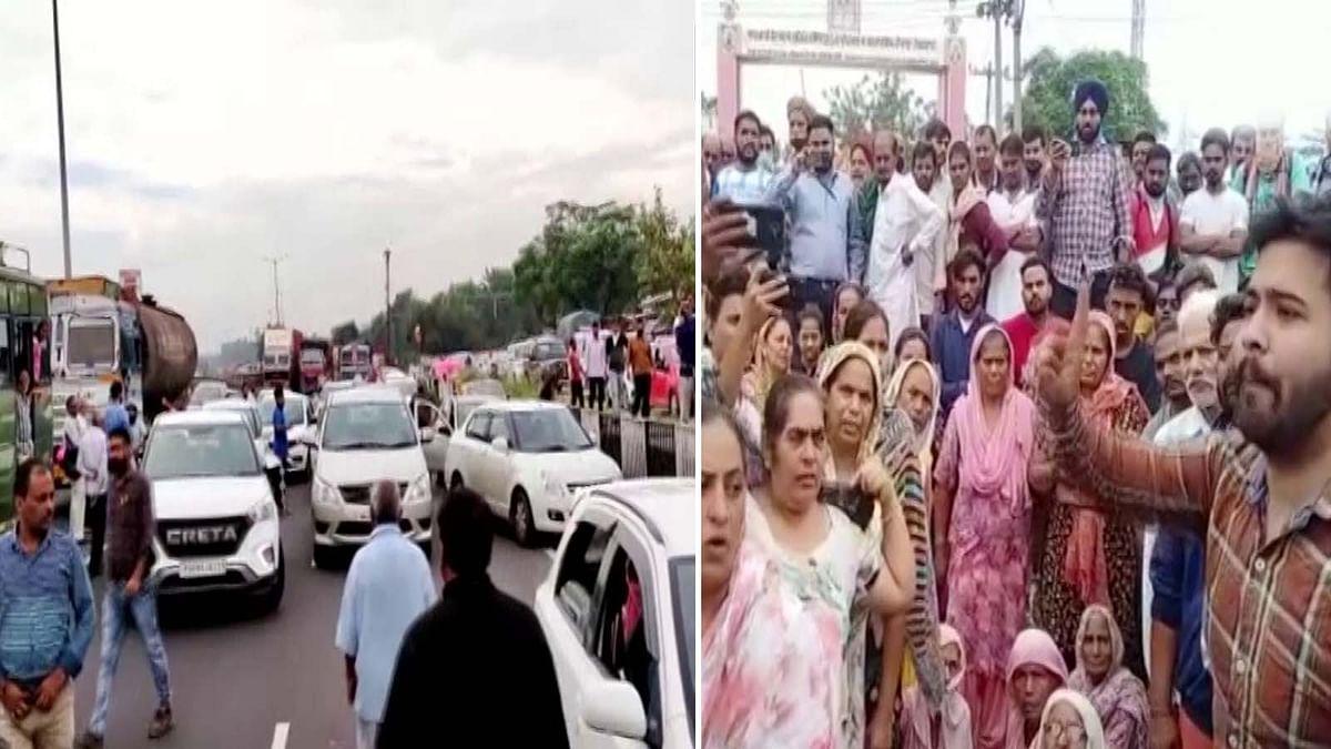 पंजाब के जालंधर-फगवाड़ा हाईवे पर एक तेज रफ़्तार गाड़ी ने 2 युवतियों को कुचला