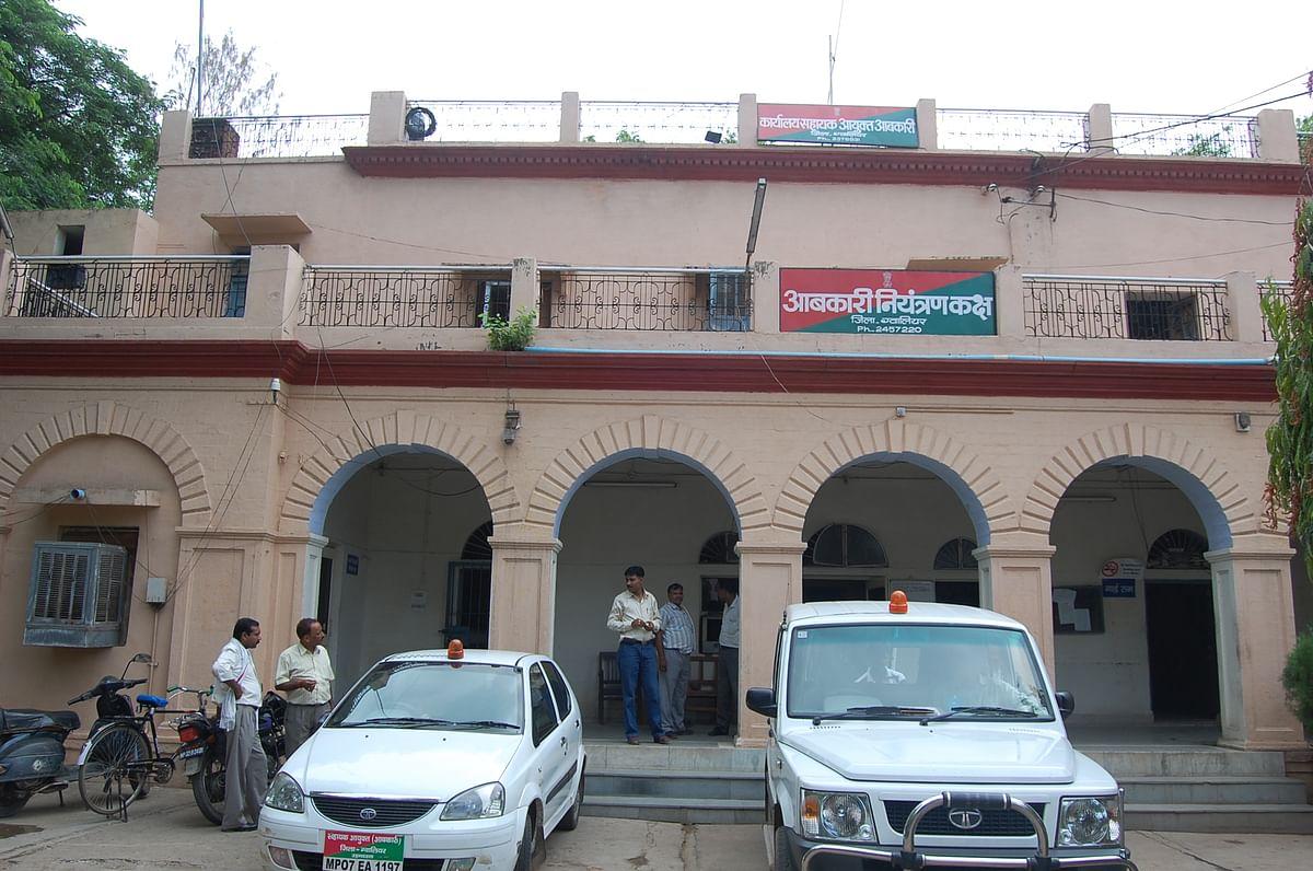 Gwalior : जो काम आबकारी विभाग का उस काम को कर रही पुलिस