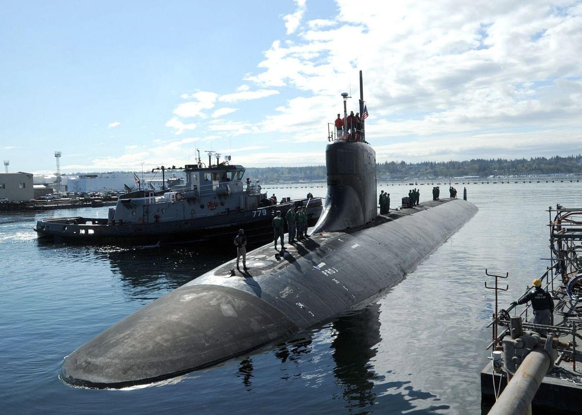 दक्षिण चीन सागर पर US परमाणु पनडुब्बी अज्ञात चीज से टकराई- 11 नौसैनिक घायल