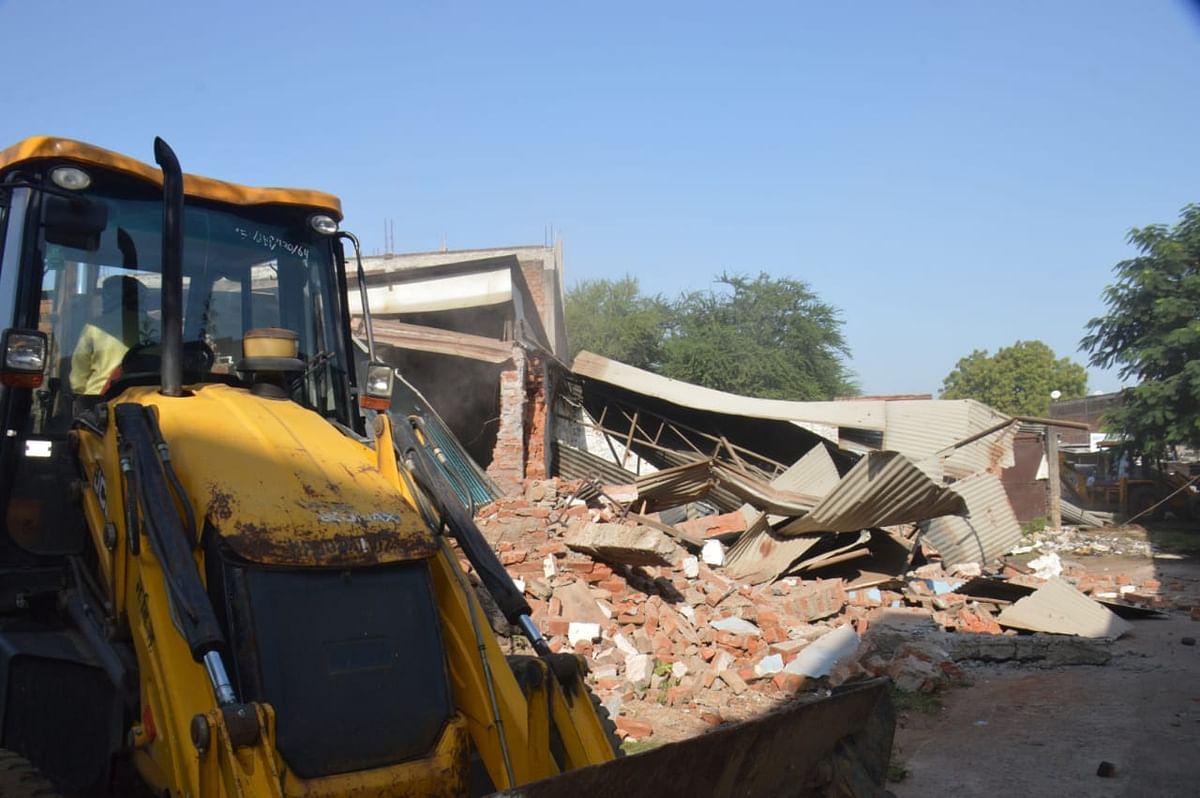 जबलपुर में आज प्रशासन ने बड़ी कार्रवाई