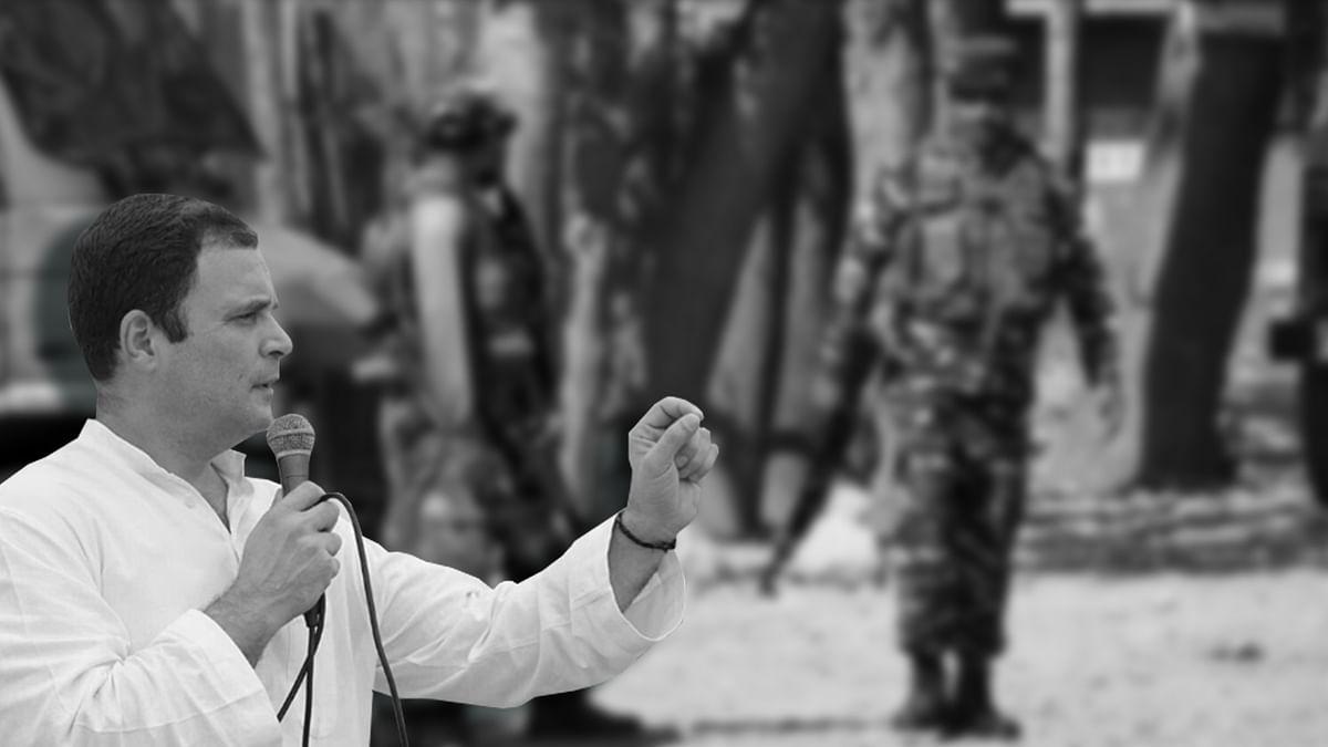 कश्मीर में हिंसा रोकने में विफल हो गई है मोदी सरकार : राहुल