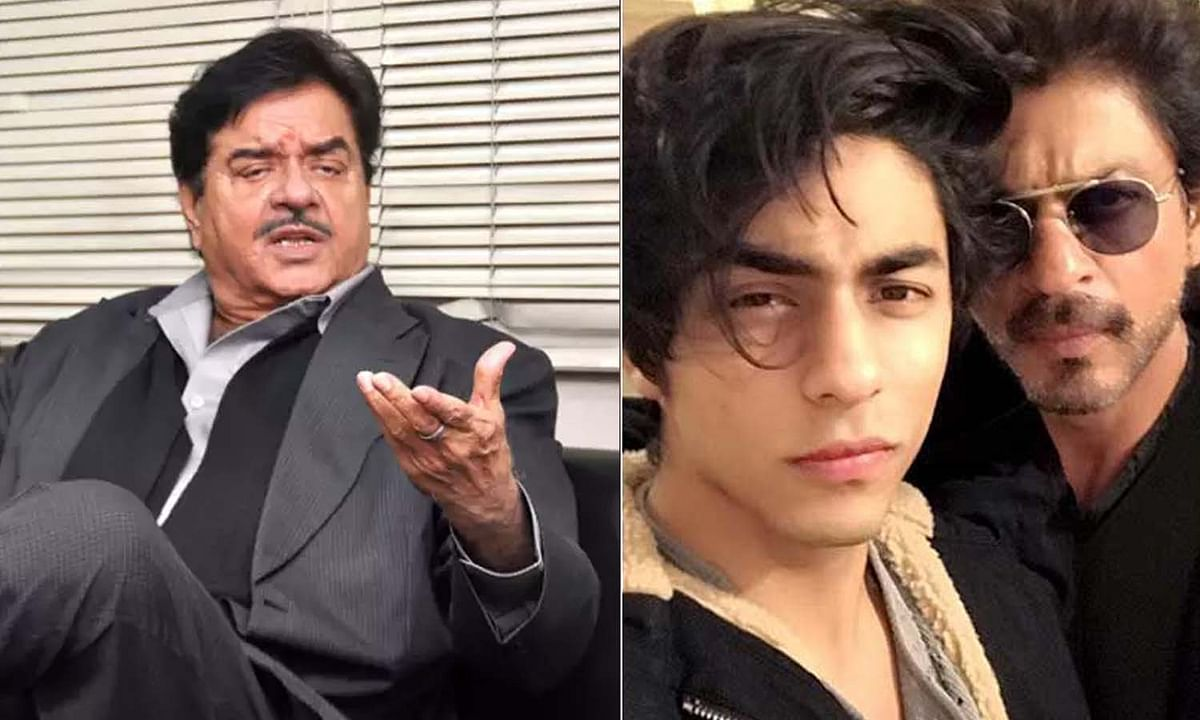 शाहरुख खान के समर्थन में बोले शत्रुघ्न सिन्हा, कहा- आर्यन को टारगेट किया जा रहा है