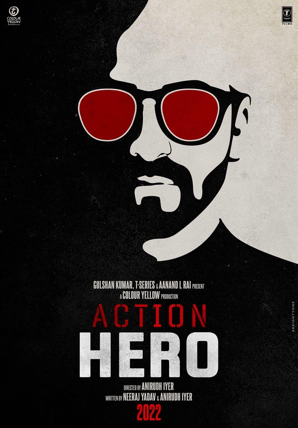 फिल्म Action Hero का पोस्टर