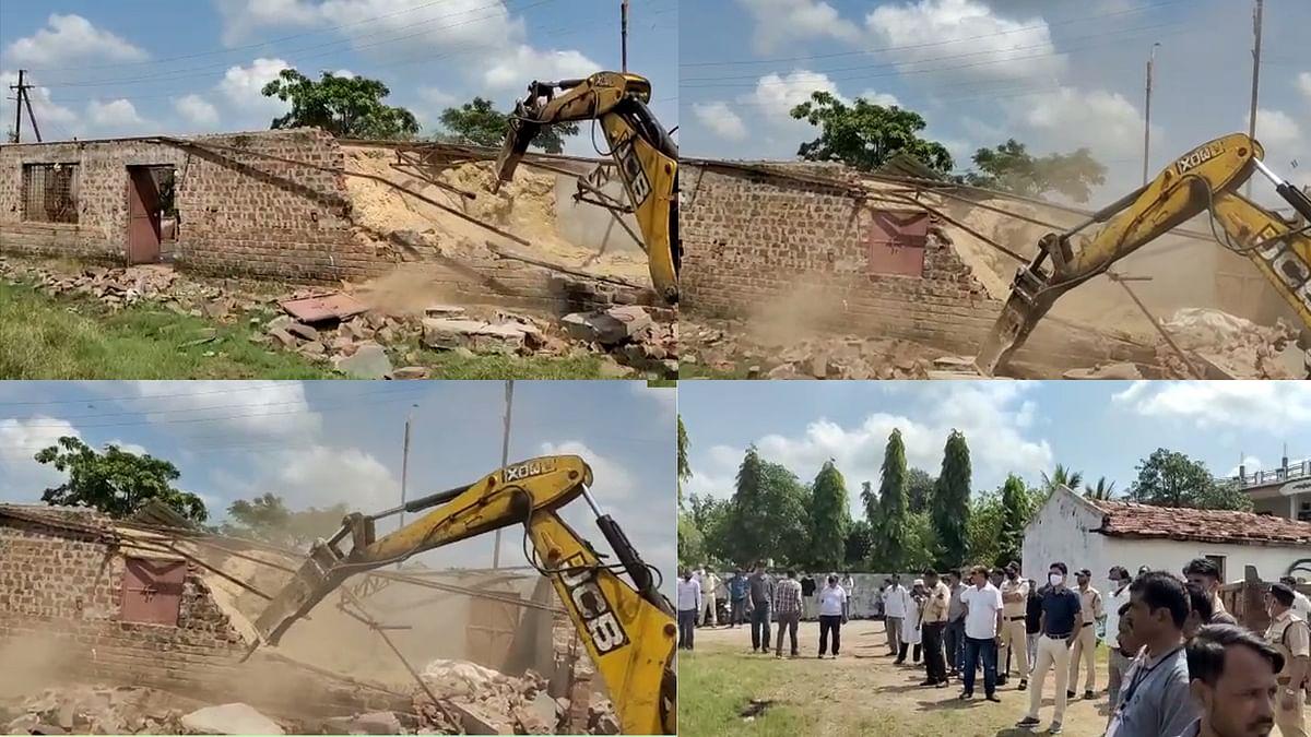 MP में तीसरी बड़ी कार्रवाई: भोपाल में रप्पु सरपंच से मुक्त कराई सरकारी जमीन