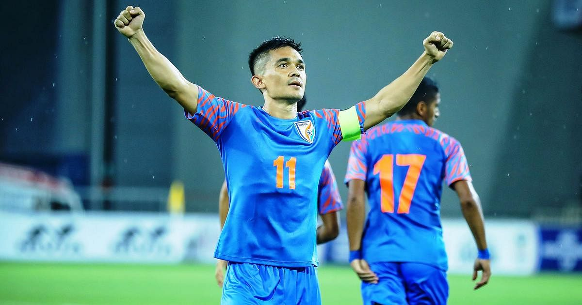 आखिरी समय में कप्तान छेत्री के गोल ने भारत को सैफ चैंपियनशिप में दिलाई पहली जीत