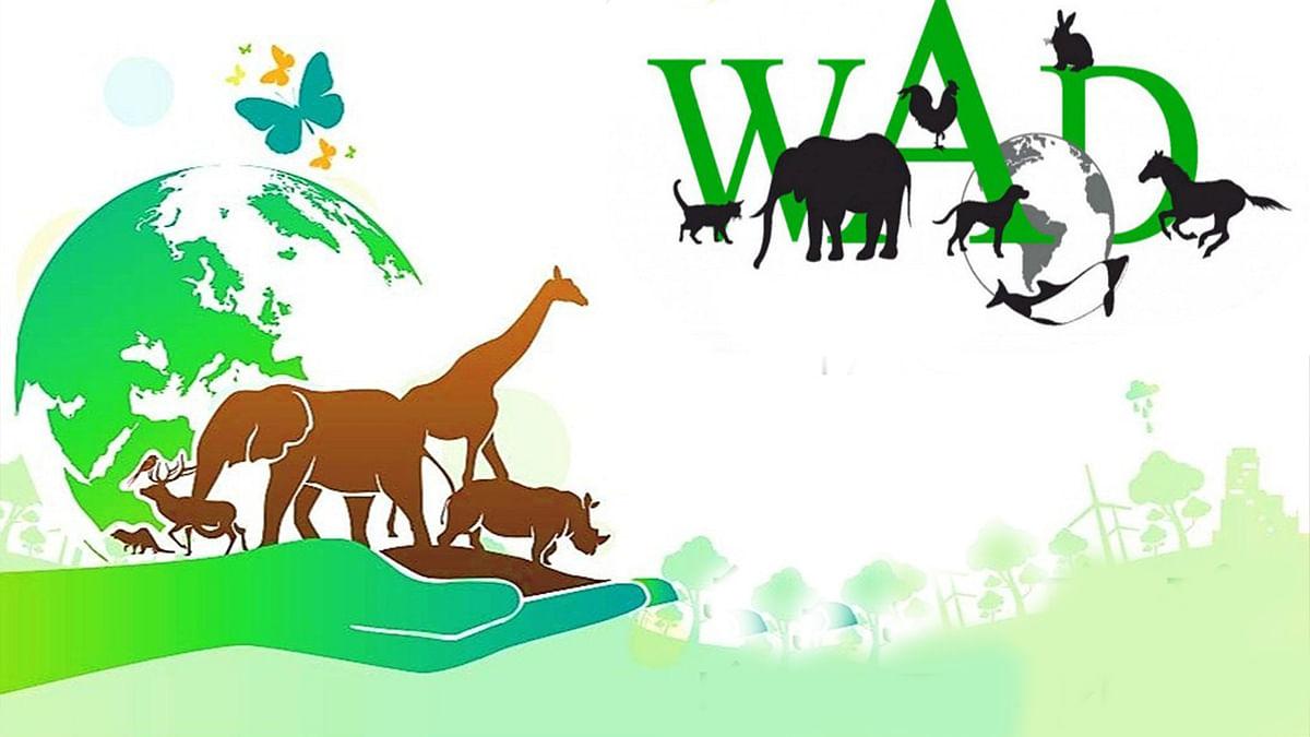World Animal Day पर सीएम शिवराज ने कहा- 'जीवों पर दया और प्रेम ही भारतीय संस्कृति है'