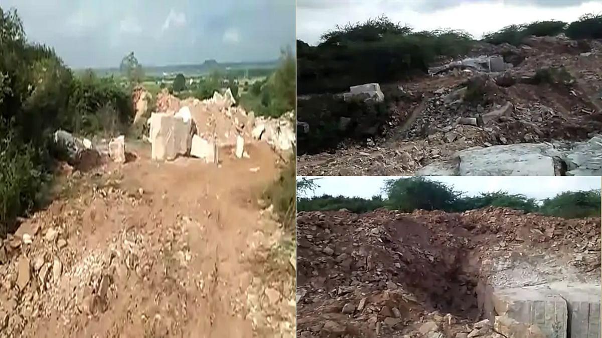 Morena: अवैध पत्थर का खनन करने वाले माफिया ने वन अमले को खदेड़ा, की ताबड़तोड फायरिंग