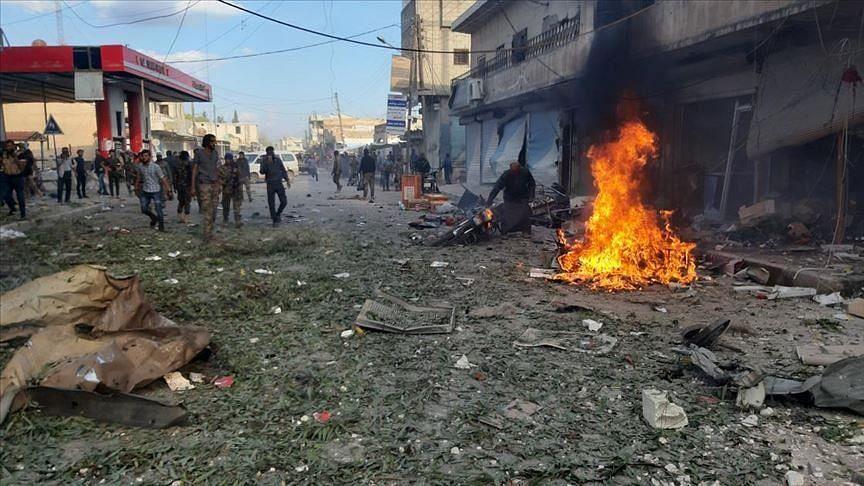 सीरिया के इदलीब क्षेत्र में आतंकवादियों के 8 हमले