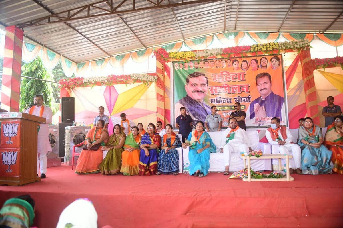 भाजपा ने विकास और कांग्रेस ने हमेशा किया विनाश : विष्णुदत्त शर्मा