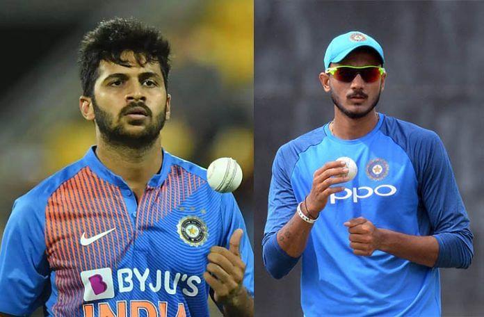 भारत की विश्व कप टीम में अक्षर पटेल की जगह शार्दुल ठाकुर