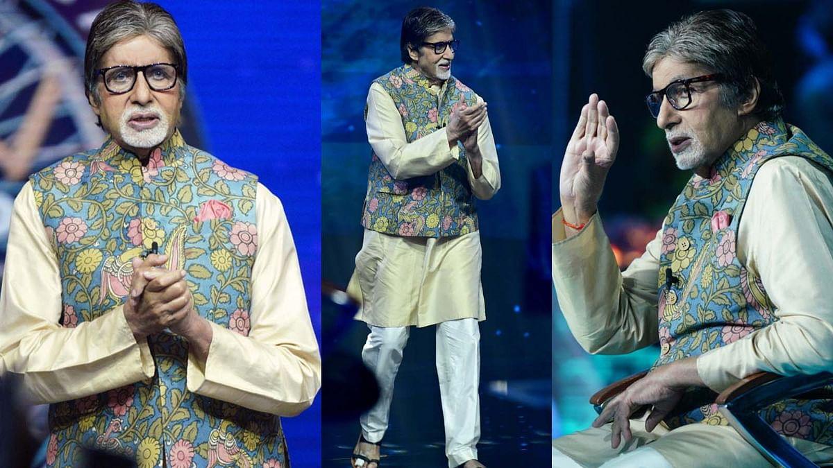 अमिताभ बच्चन के पैर की उंगली में लगी चोट, फिर भी शूट किया 'KBC' का स्पेशल एपिसोड