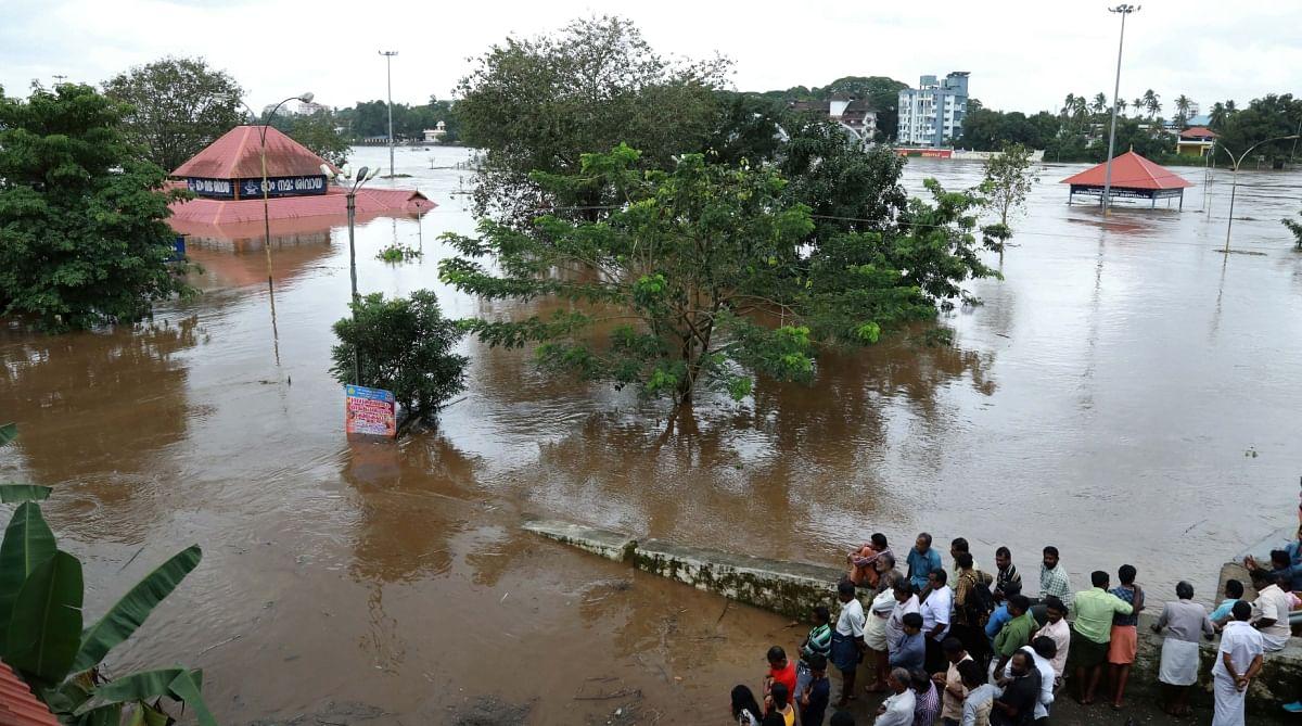 केरल में भारी बारिश ने की आफत, बाढ़ के पानी ने जमकर मचाया हाहाकार