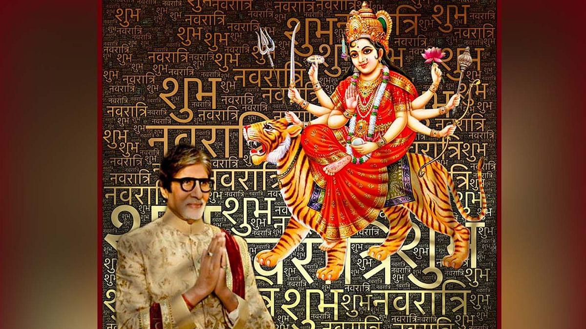 अमिताभ बच्चन, अनुपम खेर समेत इन बॉलीवुड सेलेब्स ने दी शारदीय नवरात्रि की शुभकामनाएं