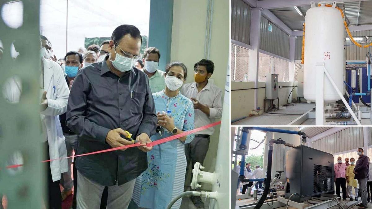 दिल्ली के स्वास्थ्य मंत्री ने लोक नायक अस्पताल में PSA प्लांट का किया उद्घाटन