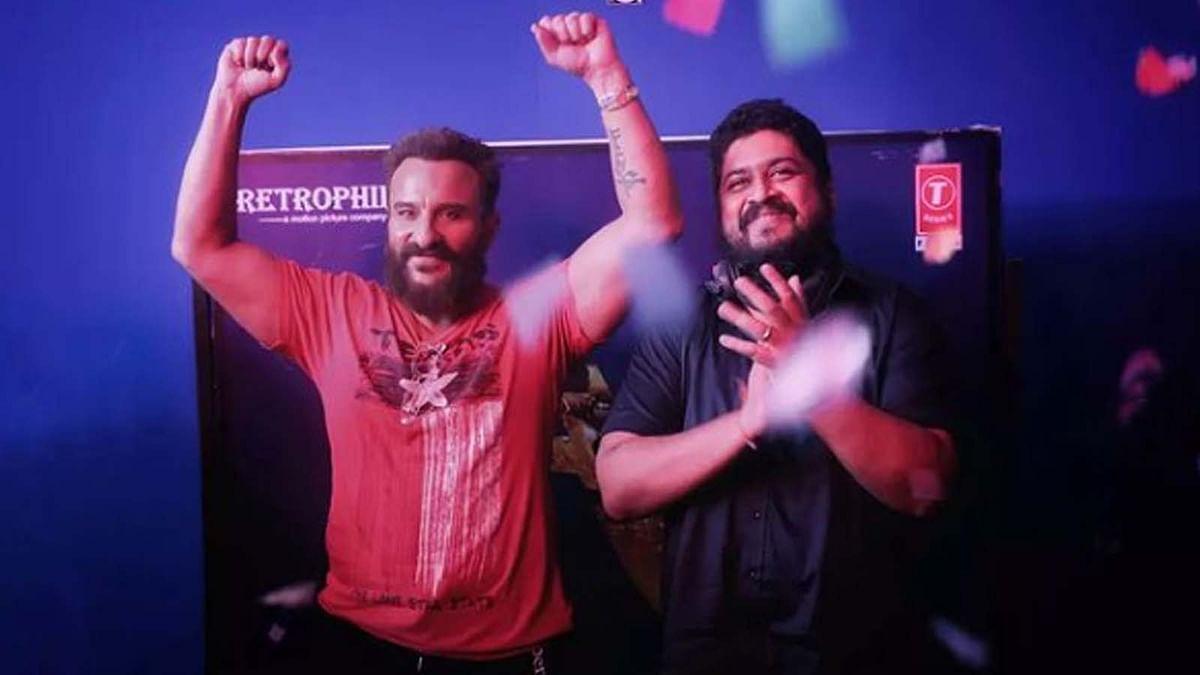सैफ अली खान ने पूरी की फिल्म 'Adipurush' की शूटिंग, ओम राउट ने शेयर की तस्वीरें