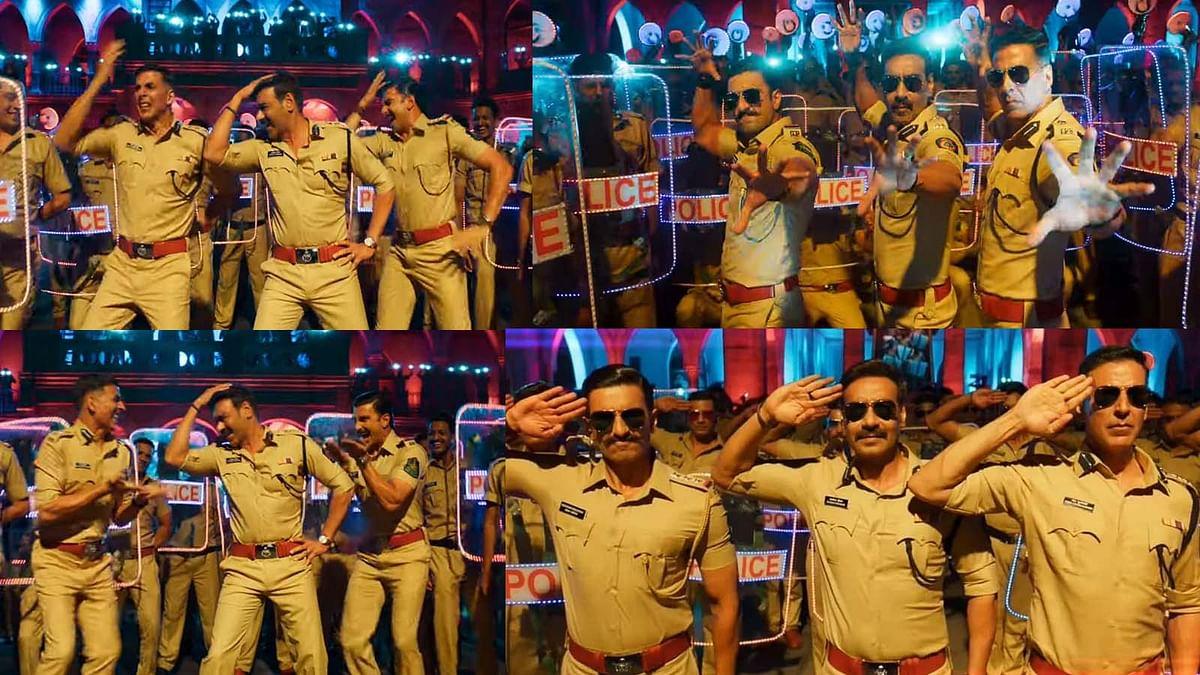 'सूर्यवंशी' का पहला गाना Aila Re Aillaa रिलीज, जमकर नाचते दिखे अक्षय, अजय, रणवीर