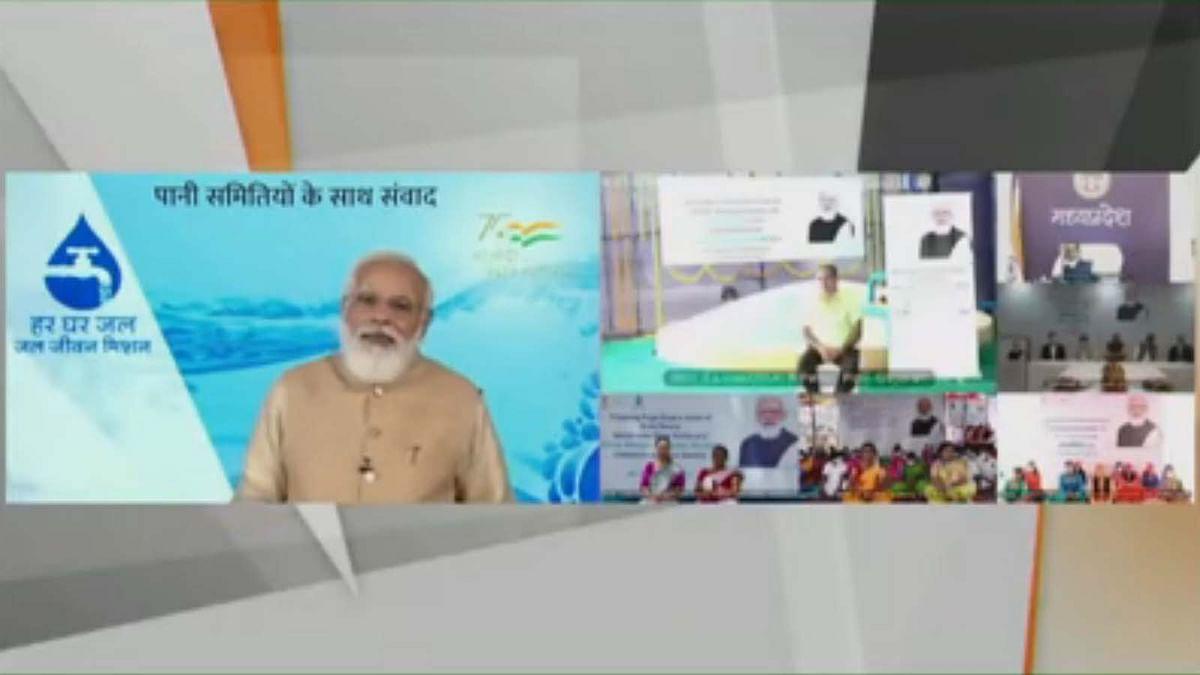 PM मोदी ने जल जीवन मिशन ऐप और राष्ट्रीय जल जीवन कोष किया लॉन्च