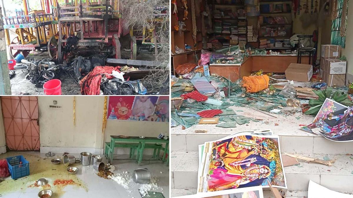 बांग्लादेश में मुस्लिम कट्टरपंथियों का इस्कॉन मंदिर पर हमला, पूजा पंडाल किया तहस-नहस