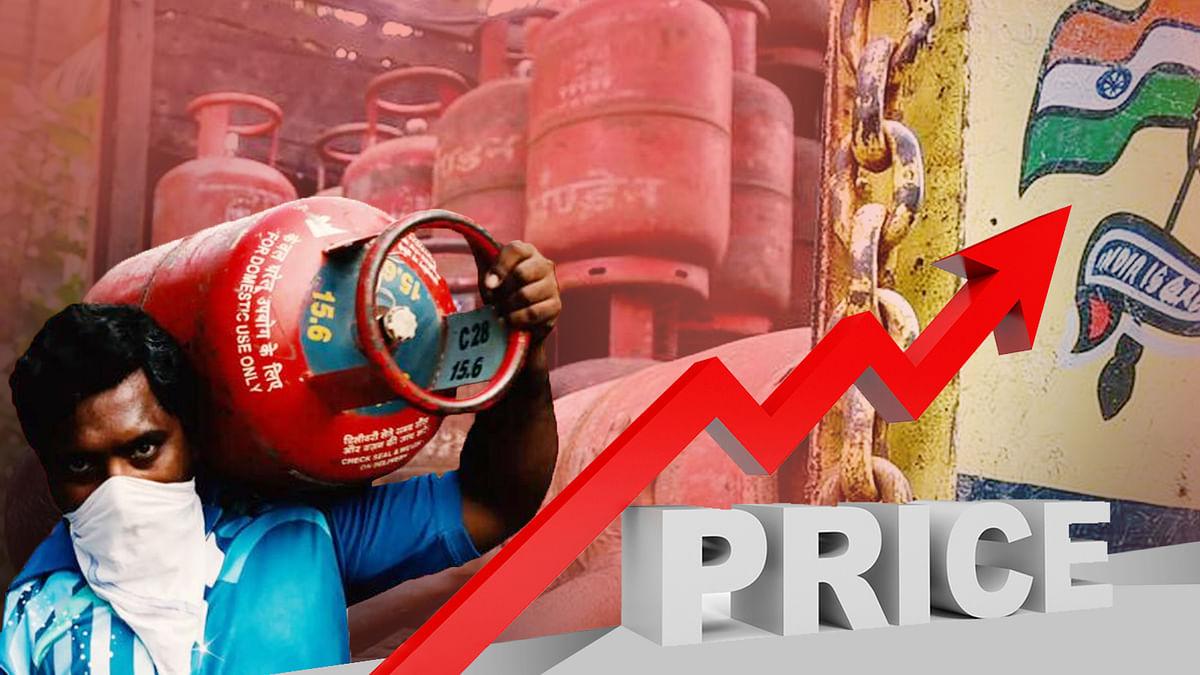 कमर्शियल LPG सिलेंडर की कीमतें बढ़ने के बाद अब बढ़ी घरेलू गैस सिलिंडर की कीमत