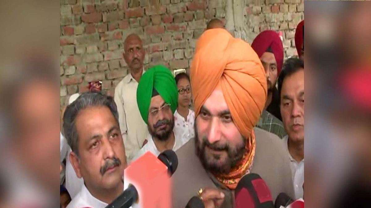 पंजाब कांग्रेस अध्यक्ष नवजोत सिंह सिद्धू की भूख हड़ताल खत्म