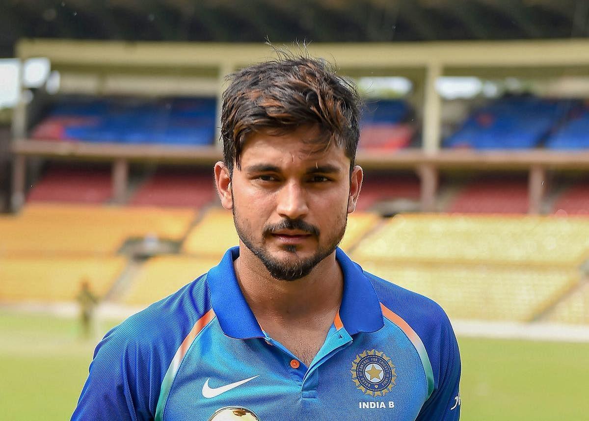 सैयद मुश्ताक अली ट्रॉफी 2021 में कर्नाटक की कमान संभालेंगे मनीष पांडे
