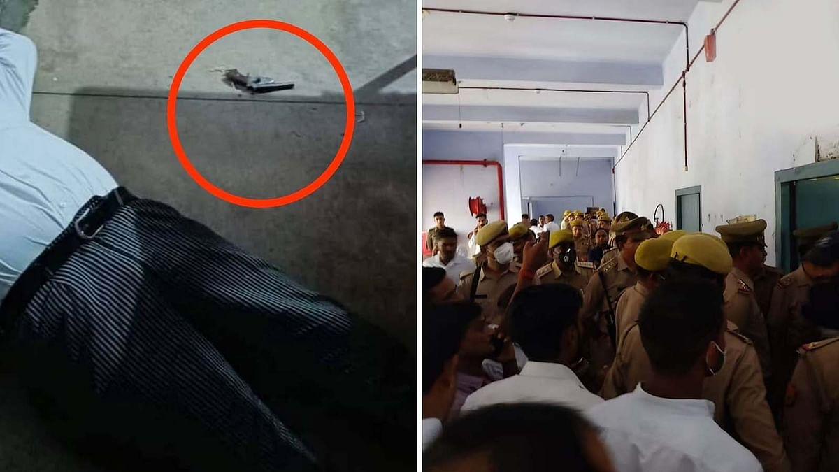 उत्तर प्रदेश के शाहजहांपुर कोर्ट के अंदर वकील की गोली मारकर हत्या