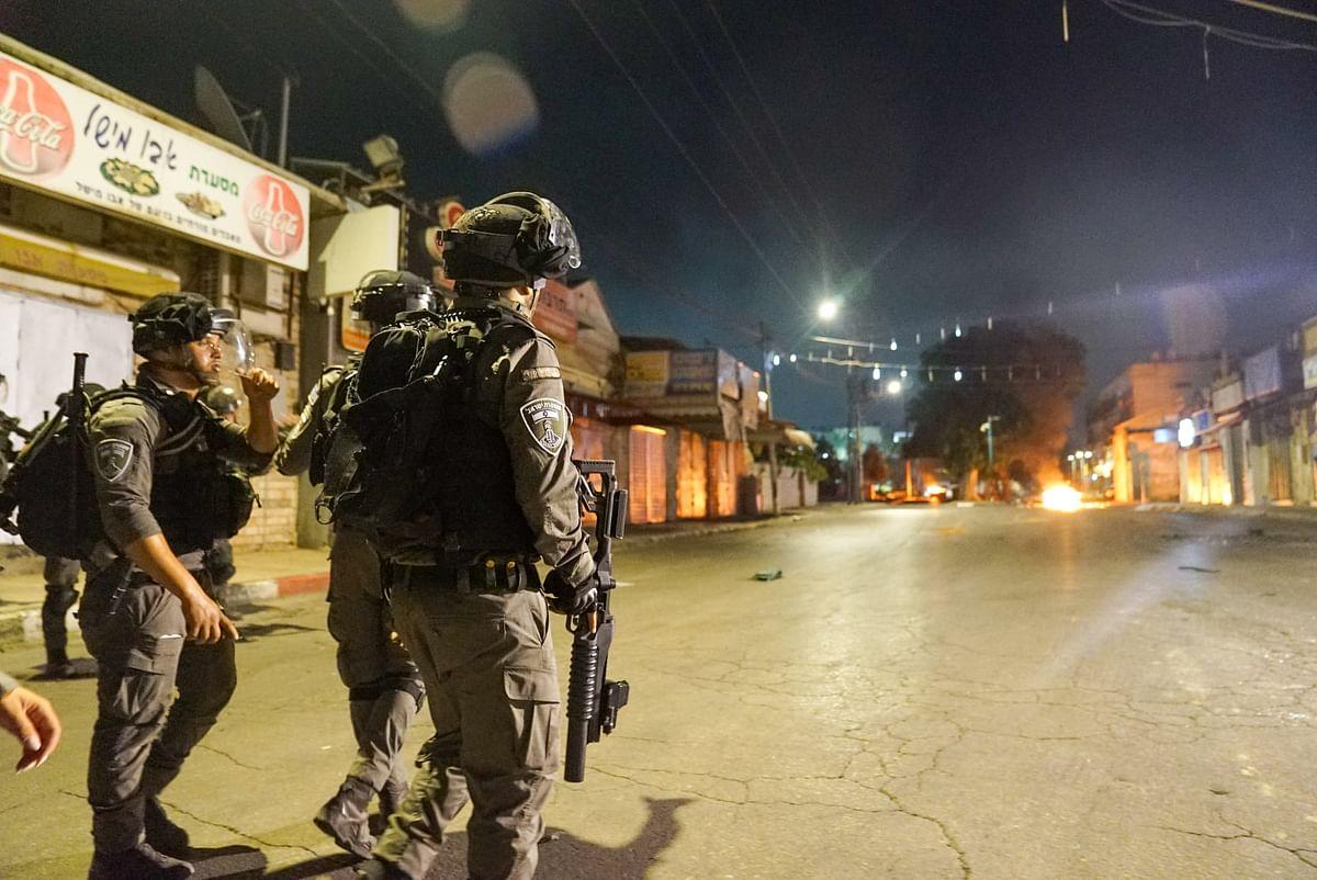 वेस्ट बैंक में इजरायली सेना के साथ हुए संघर्ष में एक फिलिस्तीनी की मौत