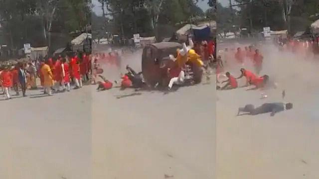 Chhattisgarh : जीप ने श्रद्धालुओं को कुचला, एक की मौत, एक दर्जन से अधिक घायल