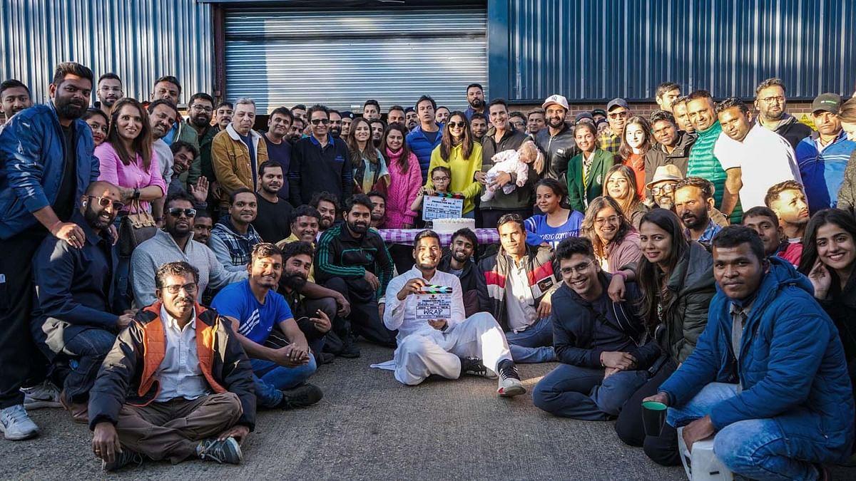 अक्षय और रकुल प्रीत ने पूरी की फिल्म 'प्रोडक्शन 41' की शूटिंग, शेयर की तस्वीरें