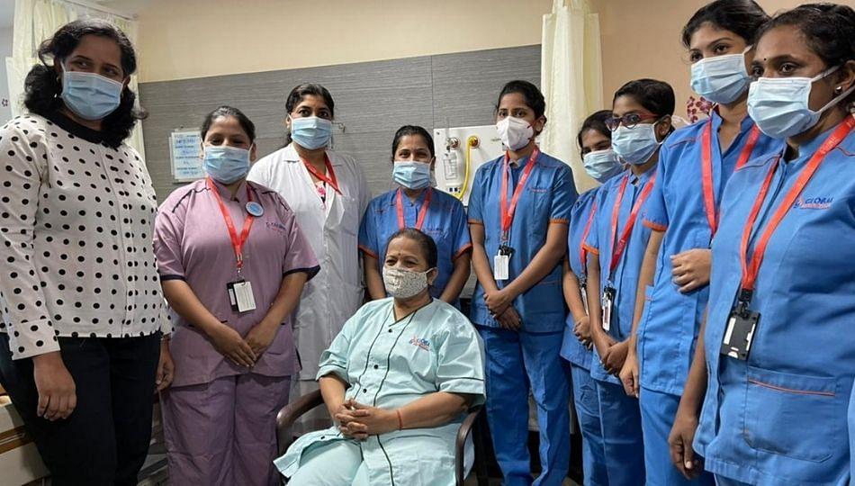 मुंबईच्या महापौर किशोरी पेडणेकर यांना रुग्णालयातून मिळाला डिस्चार्ज