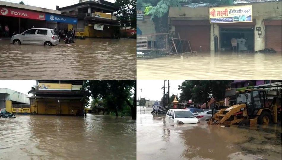 चंद्रपूर जिल्ह्यातील राजुरा शहर जलमय!