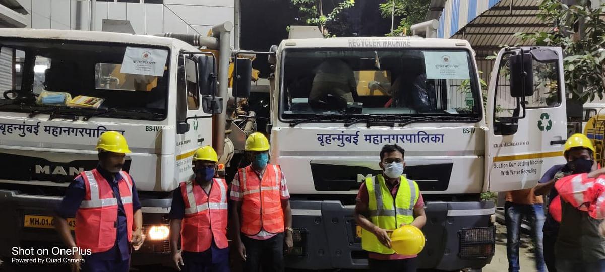 मुंबई महानगरपालिकेच्या 2 तुकड्या रायगड कोल्हापूरकडे मदतीसाठी रवाना