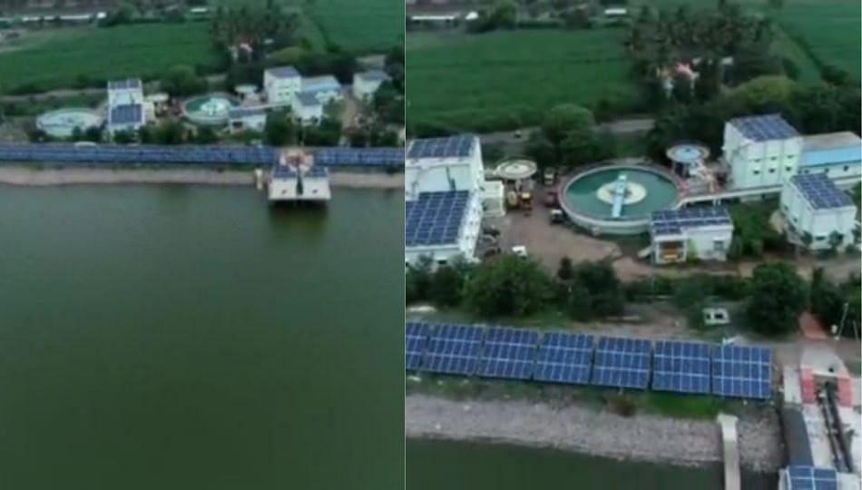 'या' नगरपंचायतीचा अनोखा उपक्रम; सोलरद्वारे पाच लाख रुपयांची वीज निर्मिती