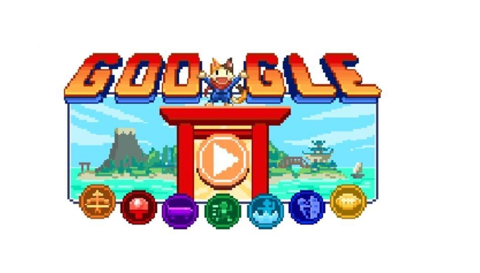 Google Doodle कडून टोकियो ऑलिम्पिकचे विशेष स्वागत
