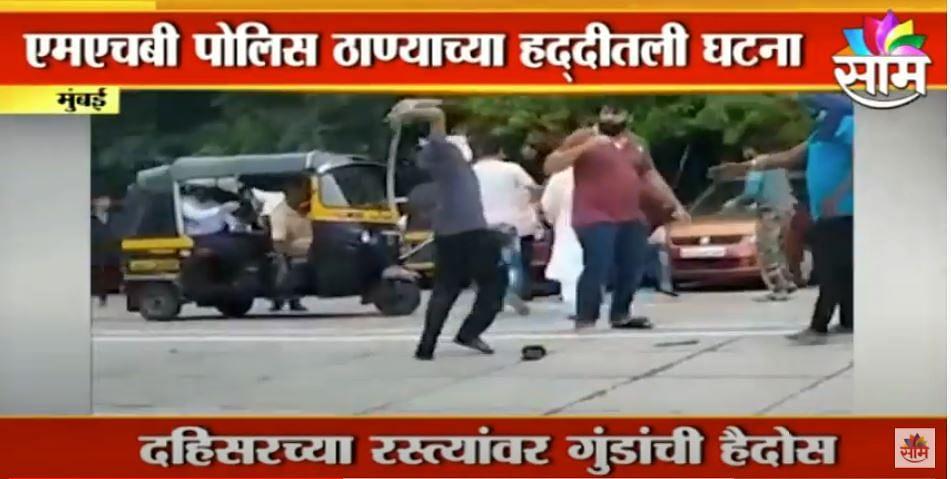 धक्कादायक ; मुंबईत वकिलावर तलवारीने हल्ला