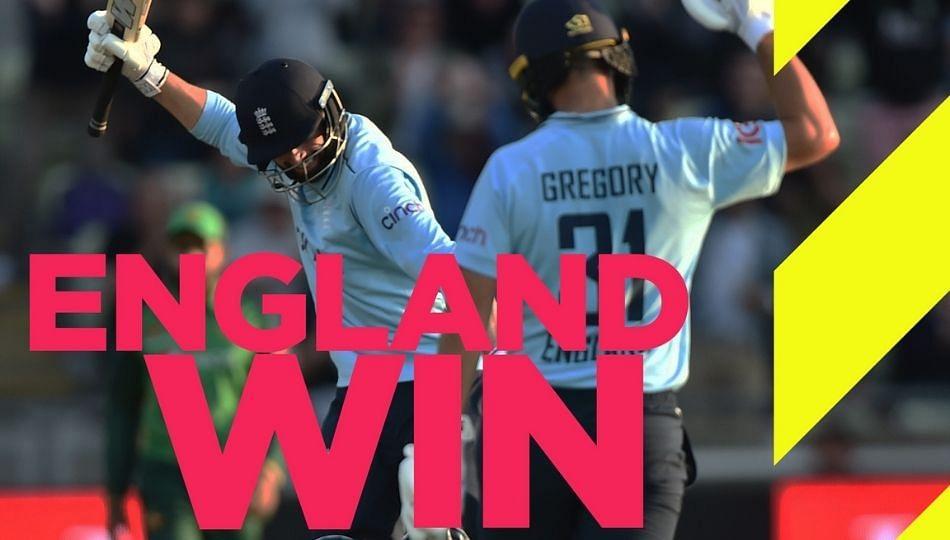 PAK vs ENG: शेवटच्या सामन्यात इंग्लंडचा विजय; मालिकेत पाकिस्तानला व्हाईटवॉश