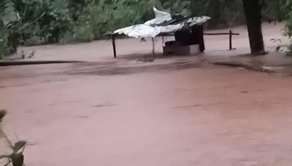 मुसळधार पावसाचा तडाखा; शेतकऱ्यांच्या शेतात घुसले पाणी