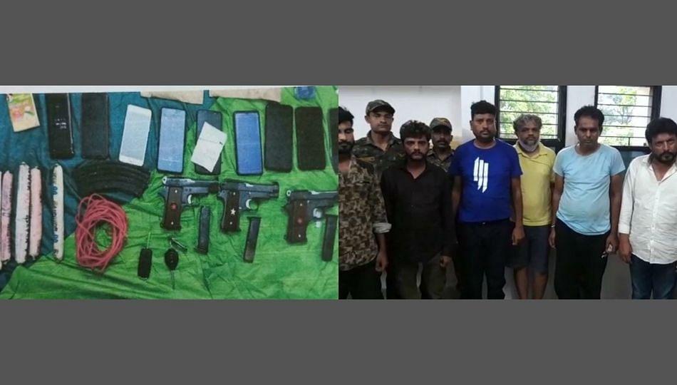 नक्षलवाद्यांना विस्फोटक साहीत्य आणि हत्यारे पुरवणाऱ्या आठ जणांना बालाघाट पोलिसांकडून अटक