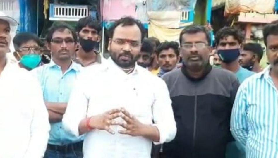 राजपुरीतील दरडग्रस्त नागरिकांना त्वरित विस्थापित करा- महेश मोहिते