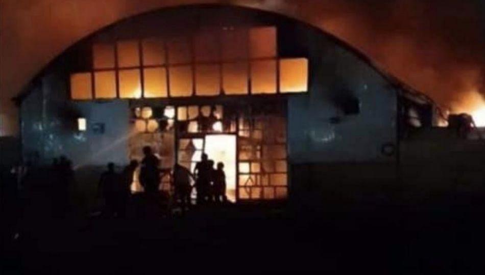 इराक मधिल कोविड रुग्णालयाला भिषण आग; 44 रुग्ण जळून खाक
