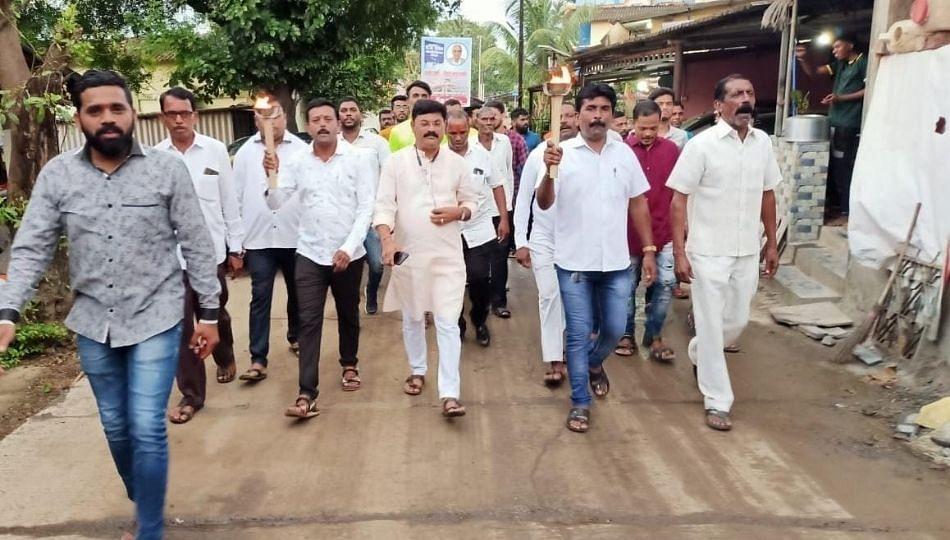 नवी मुंबई विमानतळ नामकरण प्रकरणी कल्याण ग्रामीणचे नागरिक पुन्हा आक्रमक