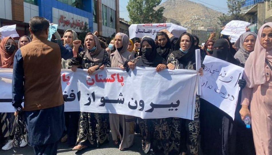 पाकिस्तान विरोधात घोषणा देत अफगाणी जनतेने काढला मोर्चा; तालिबाननं केला गोळीबार