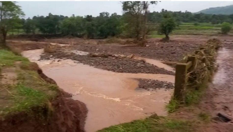 Kolhapur: भुदरगडमधील बंधारा फुटला; महिलेचा मृत्यू... (पहा व्हिडीओ)