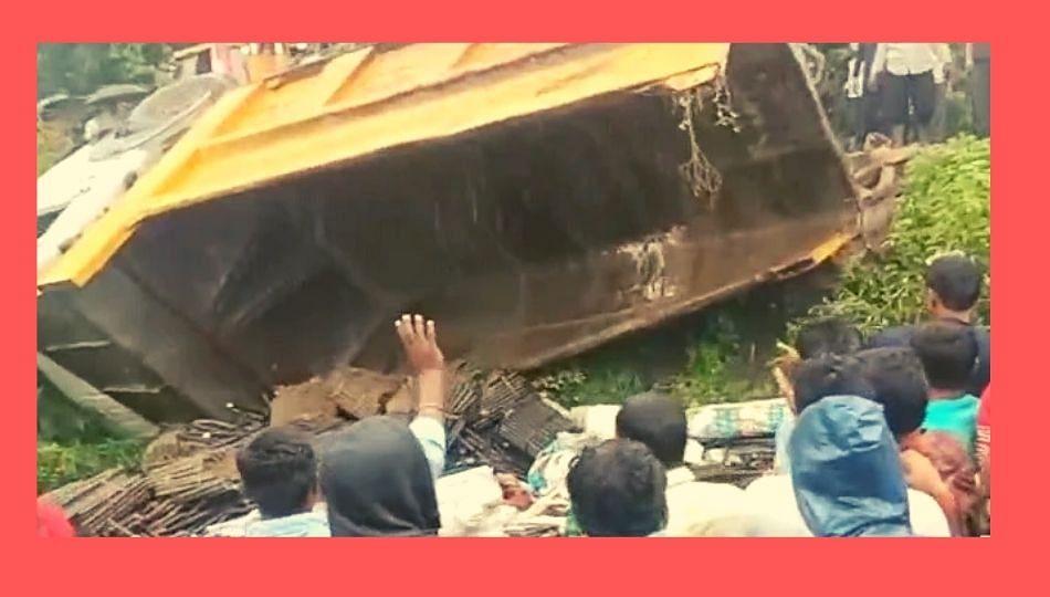 13 मजुरांच्या अपघाती मृत्यू प्रकरणी कामगार कंत्राटदारावर, सदोष मनुष्यवधाचा गुन्हा दाखल