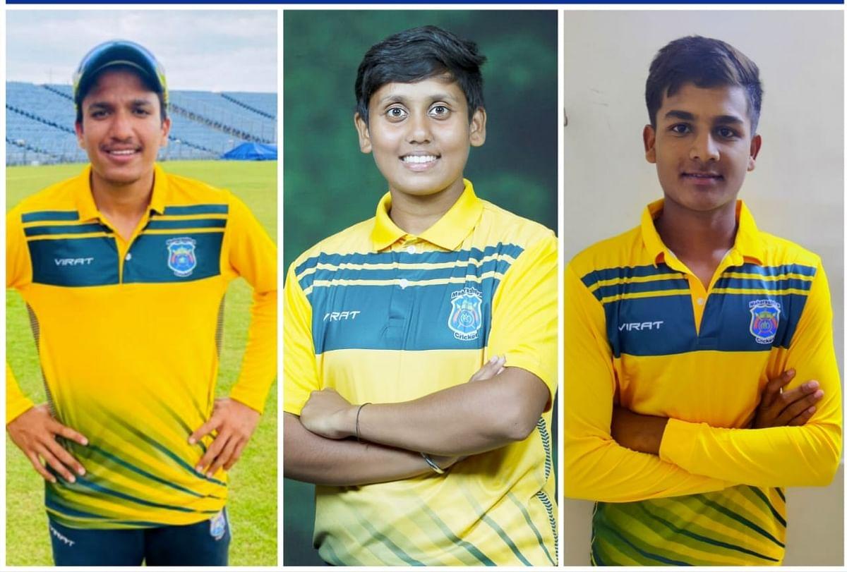महाराष्ट्राच्या क्रिकेट संघात नगरचे तीन खेळाडू