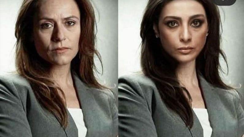 अभिनेत्री तब्बू पोलिसाची भुमिका उत्तमपणे साकारते. तिला नेटकऱ्यांकडू 'रकेल'ची भूमिका देण्यात आली आहे.