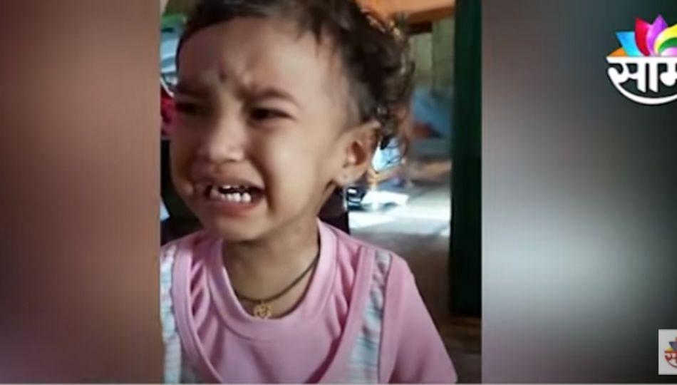 Ganpati Visarjan | विसर्जनानंतर चिमुकल्याला आले रडू; व्हिडिओ होतोय व्हायरल