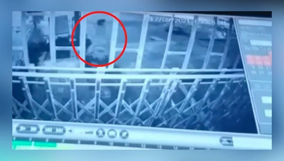 कल्याण-मलंग रोडवर पहाटेच्या सुमारास जिवंत अर्भक ठेवून जाणारी महिला CCTV मध्ये कैद!