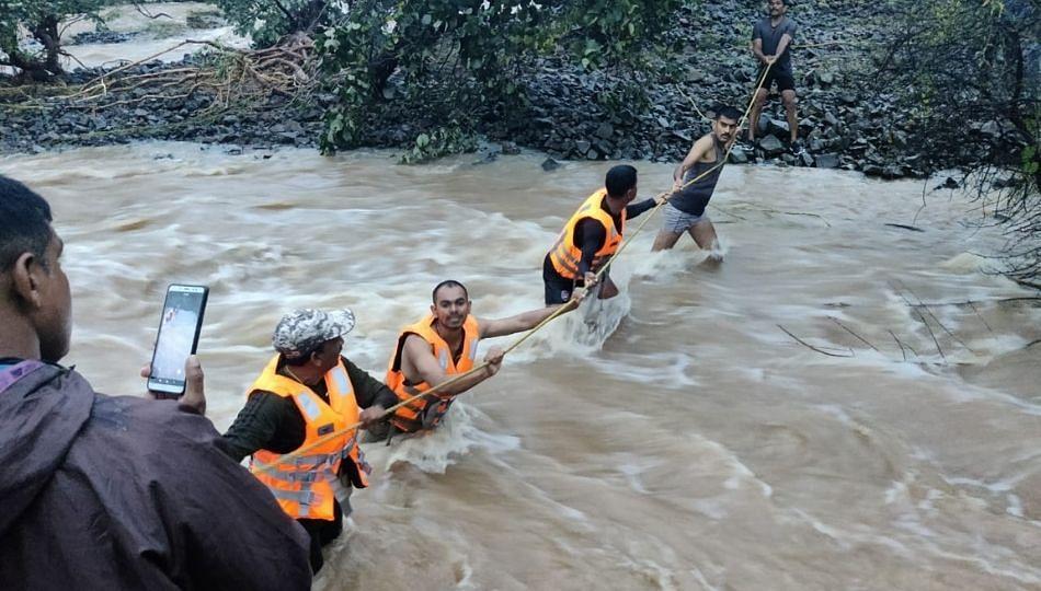 Heavy Rain Amravati: जिल्ह्यात नद्या, नाल्यांना पूर परिस्थिती