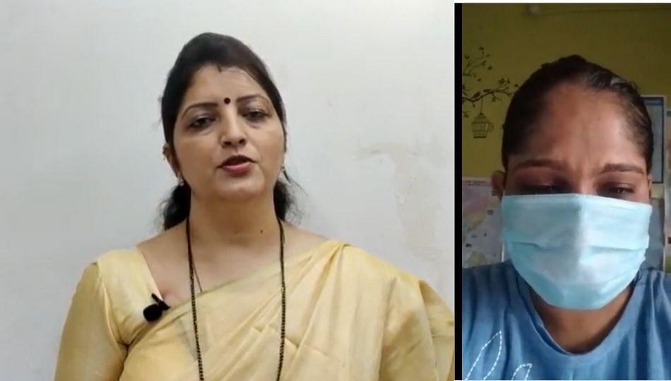 BJP खासदाराच्या सुनेचा छळ; रुपाली चाकणकरांकडे मागितली मदत